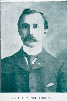 Mr. T.F. Wright, Principal of the St. Catharines Business College