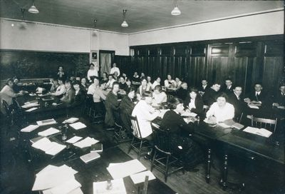 A Shorthand Classroom at the St. Catharines Business College
