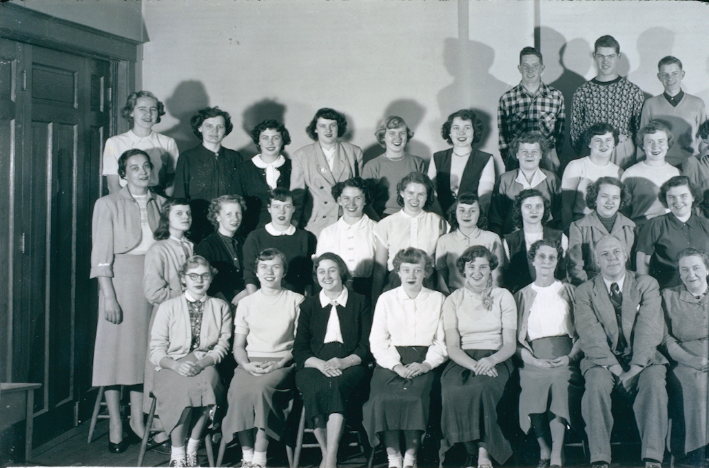 St. Catharines Business College Class November 1951