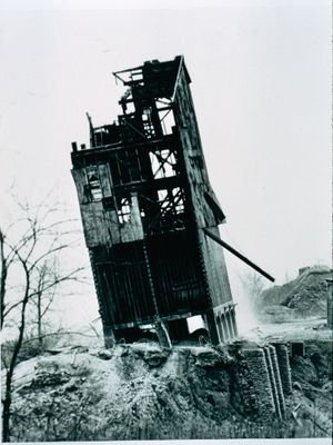 Demolition of a Crushed Stone Sizing Plant