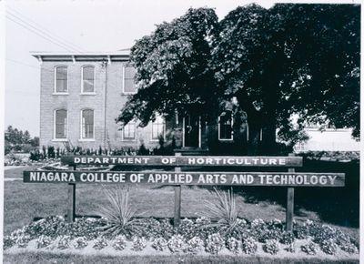Niagara College Department of Horticulture