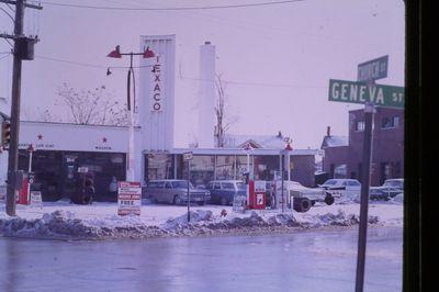 Texaco Gas Station on Geneva Street