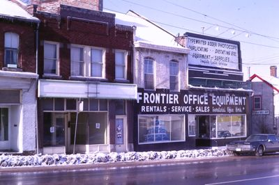 Frontier Office Equipment on Geneva Street