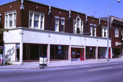 A Vacant Store Front on St. Paul Street