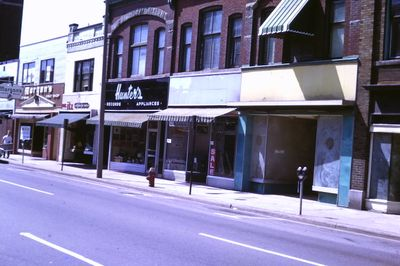 Businesses on the North Side of St. Paul Street