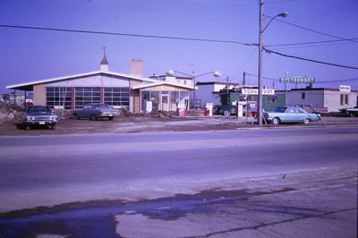 A Service Station on the East Side of Ontario Street
