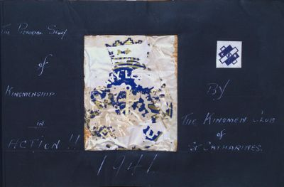 "Royal Canadian Sea Cadet Corps ""Renown"" Collection Scrapbook"