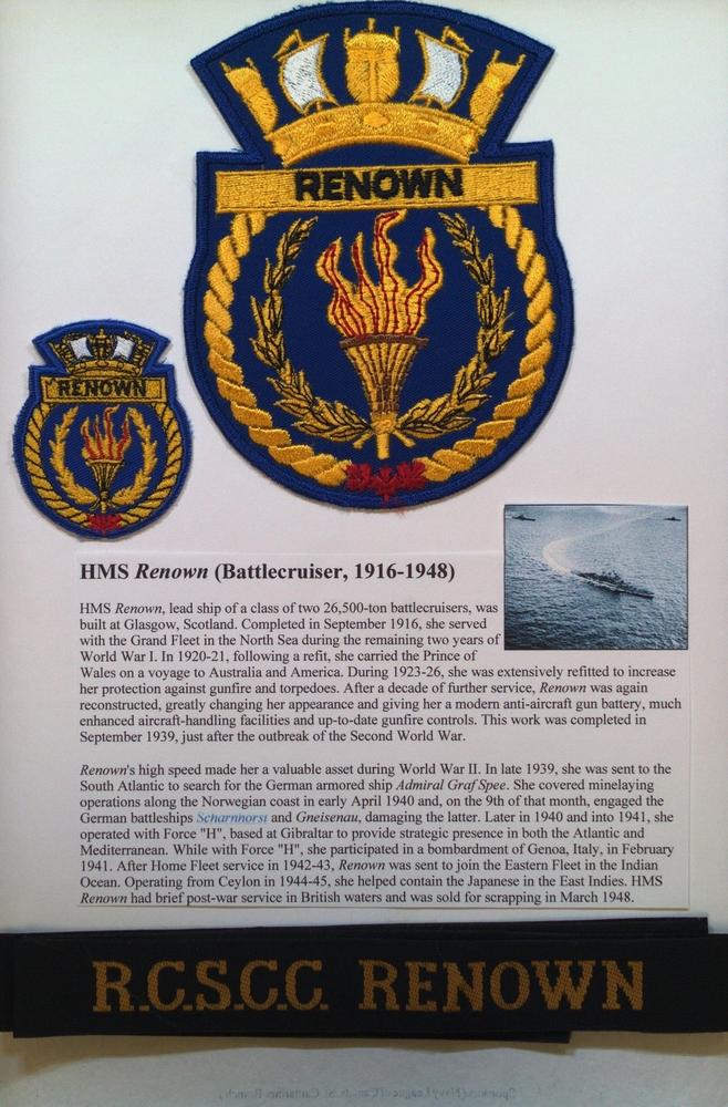 """Royal Canadian Sea Cadet Corps """"Renown"""" Duo-Tang #1"""