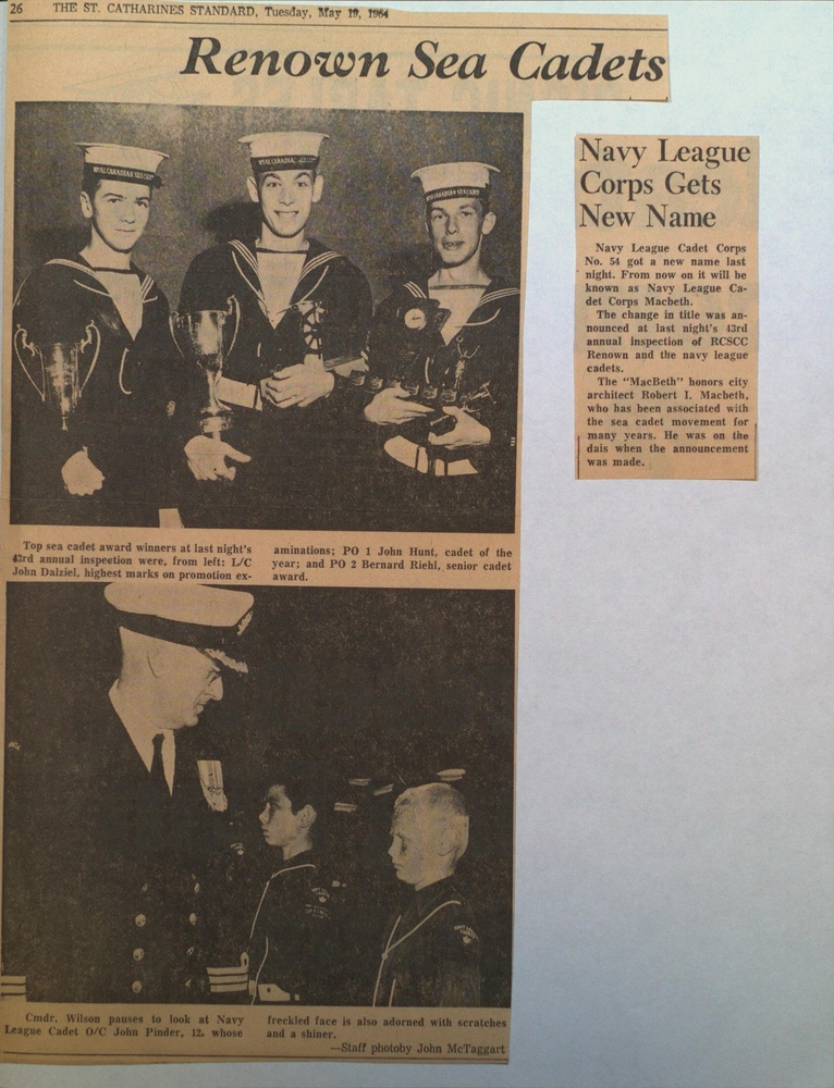 """Royal Canadian Sea Cadet Corps """"Renown"""" Duo-Tang #2"""