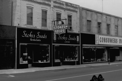 Stokes Seed Garden Centre and Consumers Distributing on James Street