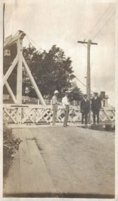 The Bridge at Lock 1 of the Second Welland Canal