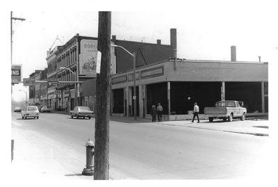 The Southwest Corner of Ontario and Trafalgar Streets