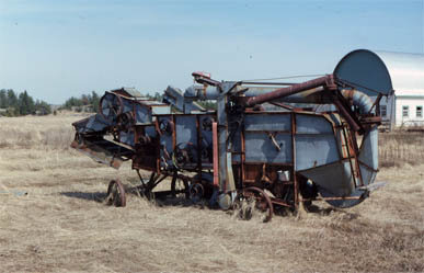 Batteuse à grains Dion / Dion threshing machine