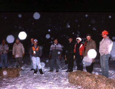 Ouverture du carnaval au Centre récréatif de Field / A huge bonfire officially started all Field winter carnivals