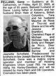 Nécrologie / Obituary Gene Pelland