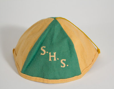 Schreiber High School Enrollment Package for 1968-1969 Beany Hat