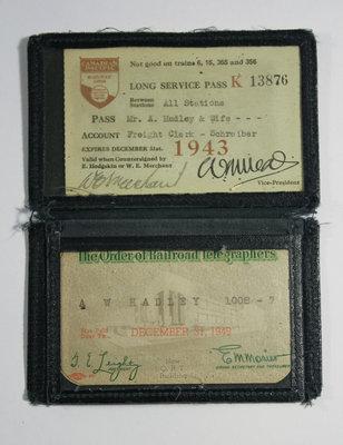 Hadley Long Service Pass
