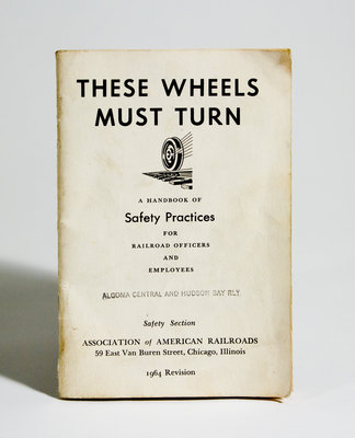 """""""These Wheels Must Turn"""" Pamphlet"""