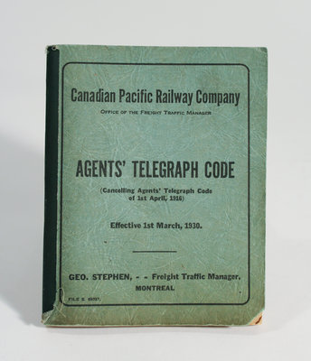 Telegraph Code Pamphlet