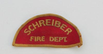Schreiber Fire Department Badge
