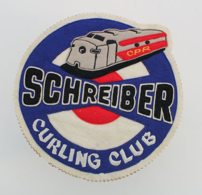 Schreiber Curling Club Badge