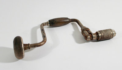 Hand Drill (Hand Brace, or Bit and Brace)