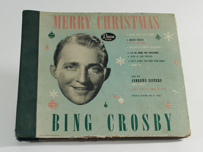 "Bing Crosby ""Merry Christmas"" Record"