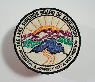 Lake Superior Board of Education Badge