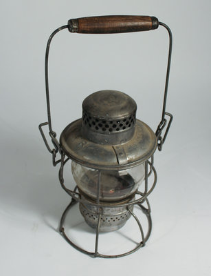 Three Silver Oil Lanterns