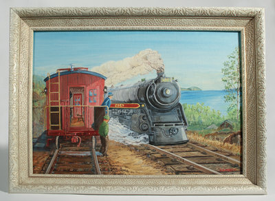 Painting of Engine #2825