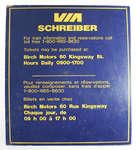 VIA Schreiber Sign