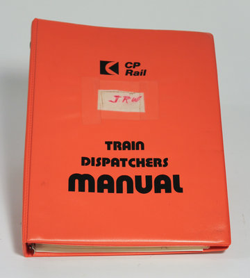 Canadian Pacific Rail Dispatchers Manual