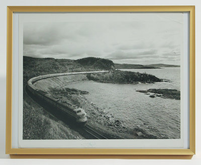 Framed Photograph of Jackfish Curve