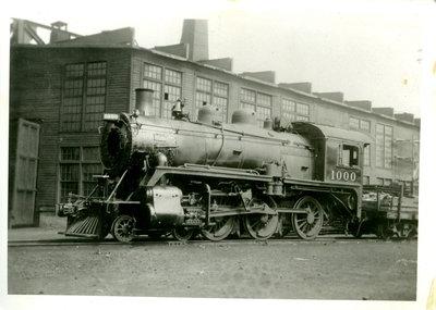 Canadian Pacific Railway Engine 1000