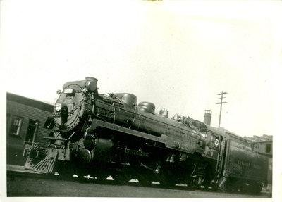 Canadian Pacific Railway Engine 2322