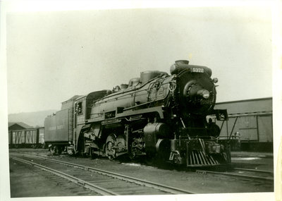 Canadian Pacific Railway Steam Engine 5372