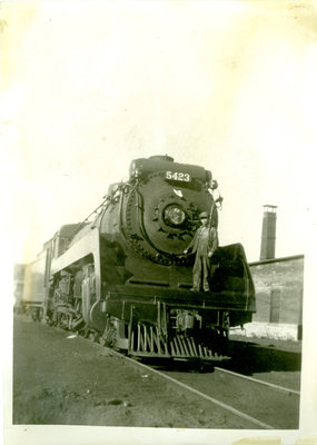 Canadian Pacific Railway Steam Engine 5423