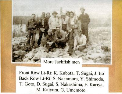 Group Photo at Jackfish Japanese Internment Camp