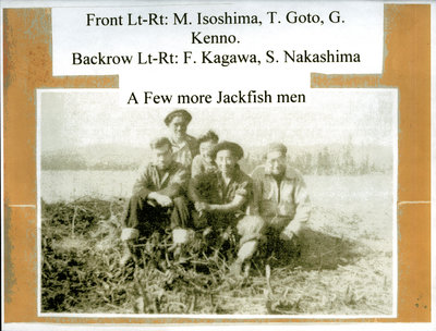 Japanese-Canadian Internees at the Internment Camp in Jackfish