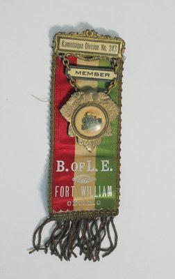 Brotherhood of Locomotive Engineers and  Trainmen Member Ribbon