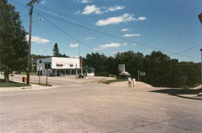 Original site of Bank in Rosseau