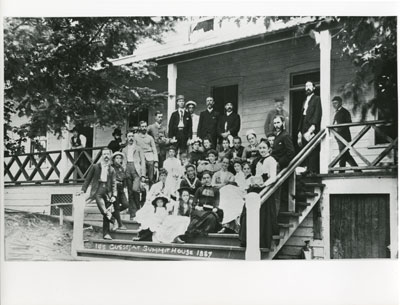 Guests at Summit House 1887