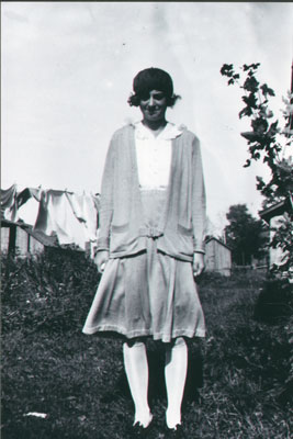 Alma Thompson and laundry
