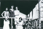 Thompson group on porch