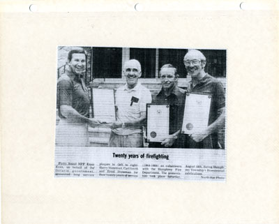 Twenty Years of firefighting