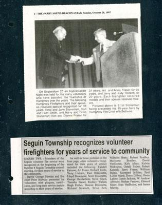 Recognizing Volunteers