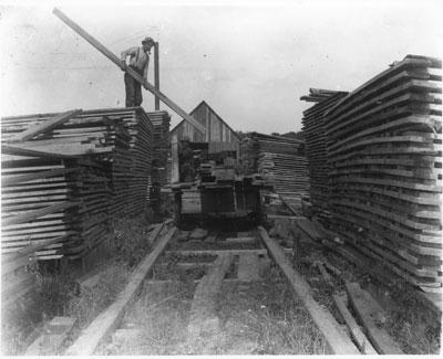 Maeck's Mill, Deer Lake, circa 1900