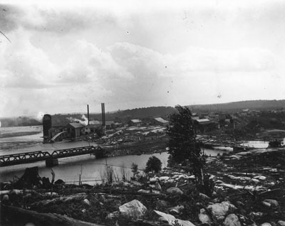 South River Lumber Mill and Mercantile Mill, circa 1903