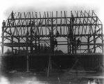 Barn Raising, South River Area, 1925