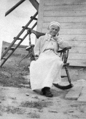 Mrs. Katie Bottomley, South River Area, circa 1950